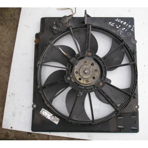 Вентилятор радиатора 1.6-2.0i бензин (7700421146B)