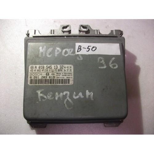 Блок управления двигателем (ЭБУ) бензин BOSCH (0261203619, A0185451332)