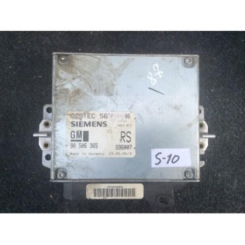 Блок управления двигателем (ЭБУ) 1.8/2.0 SIEMENS (90506365, S96007)