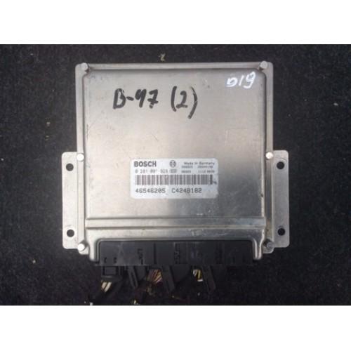 Блок управления двигателем (ЭБУ) 1.9 JTD BOSCH (0281001928, 46546205)
