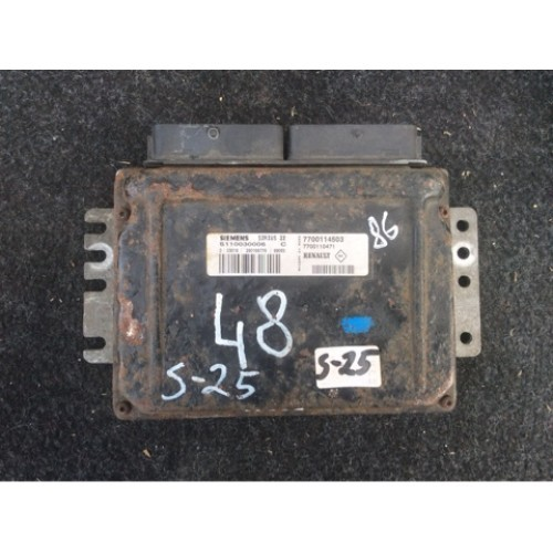 Блок управления двигателем (ЭБУ) 1.6 SIEMENS (7700114503, S110030006C)