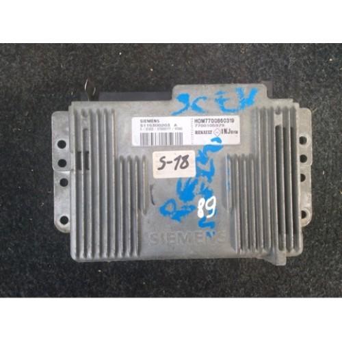 Блок управления двигателем (ЭБУ) 1.6 SIEMENS (7700105979, 7700860319)