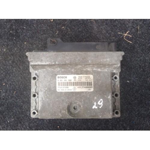 Блок управления двигателем (ЭБУ) 2.2 TD BOSCH Renault Espace II 0281001590, 7700107258