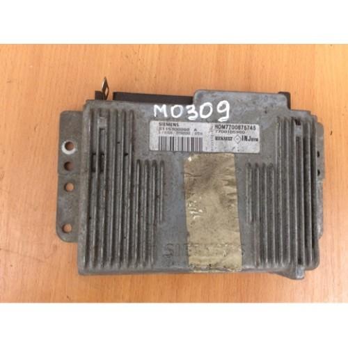 Блок управления двигателем (ЭБУ) 1.6 SIEMENS (7700875745, 7700105980, S115300202A)