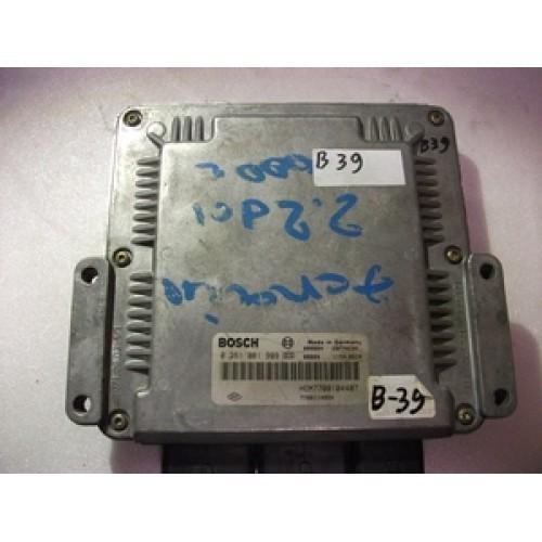 Блок управления двигателем (ЭБУ) 2.2 DCI BOSCH (0281001999, 7700104407)