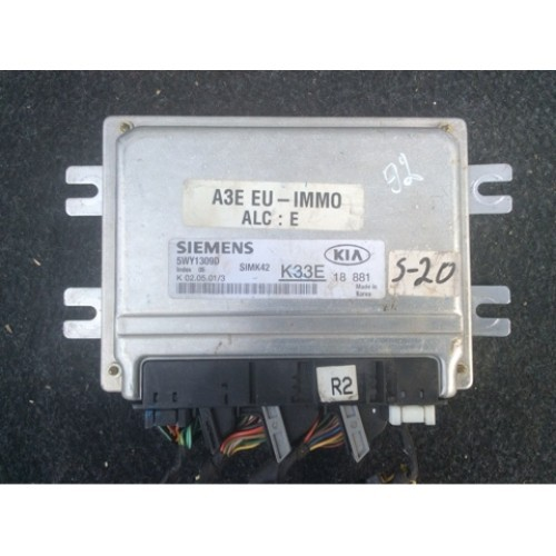Блок управления двигателем (ЭБУ) 1.3 (5WY1309D, K33E18881)