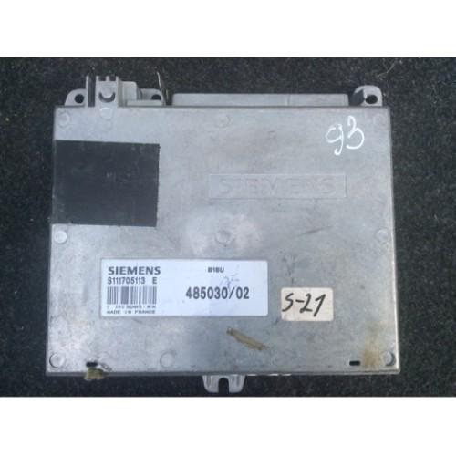 Блок управления двигателем (ЭБУ) 1.8 SIEMENS (S111705113E, 485030/02)