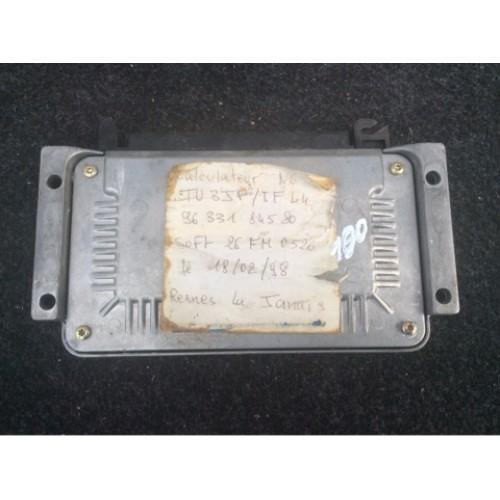 Блок управления двигателем (ЭБУ) 1.4 BOSCH (9633184580, 0261204940)