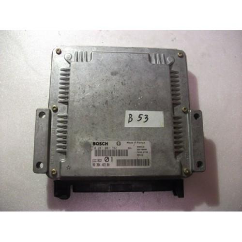 Блок управления двигателем (ЭБУ) 2.0 HDI BOSCH (0281001782, 9634662880)