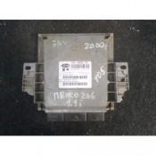 Блок управления двигателем (ЭБУ) 1.1 Peugeot 206 IAW4BP2.70, 9645243180
