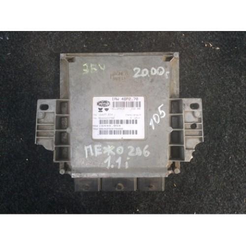 Блок управления двигателем (ЭБУ) 1.1 (IAW4BP2.70, 9645243180)