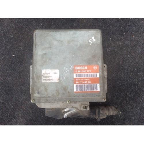 Блок управления двигателем (ЭБУ) 1.4 BOSCH (0261200772, 9617149680)