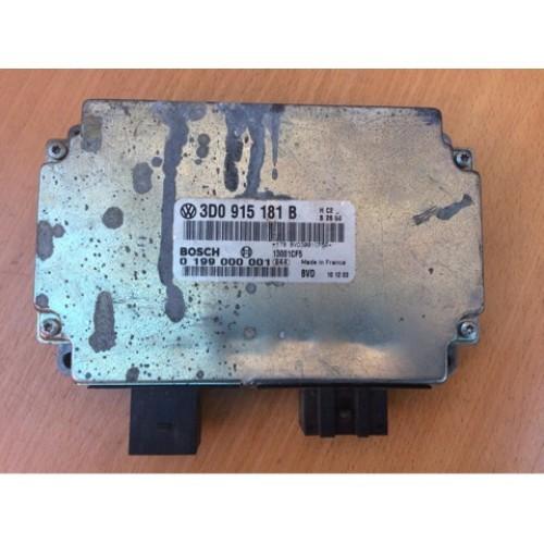 Блок контроля аккумуляторной батареи (АКБ) BOSCH (3D0915181B, 0199000001)