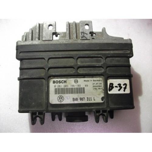 Блок управления двигателем (ЭБУ) 1.8 ABS BOSCH (0261203184, 0261203185, 8A0907311H)