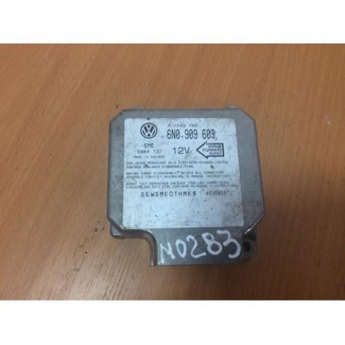 Блок управления подушкой безопасности  (6N0909603, 5WK4137)