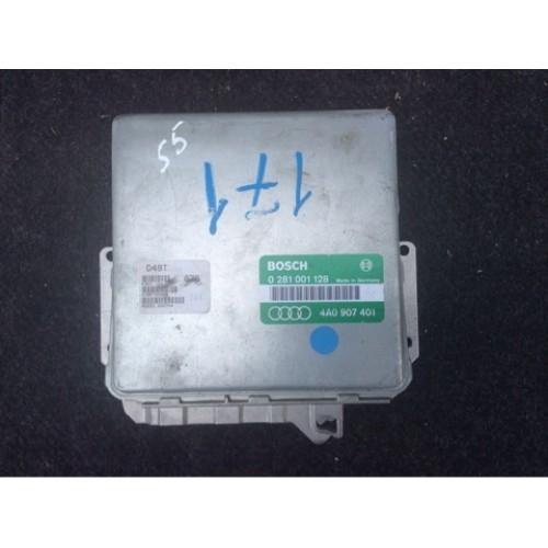 Блок управления двигателем (ЭБУ)  (0281001128, 4A0907401)