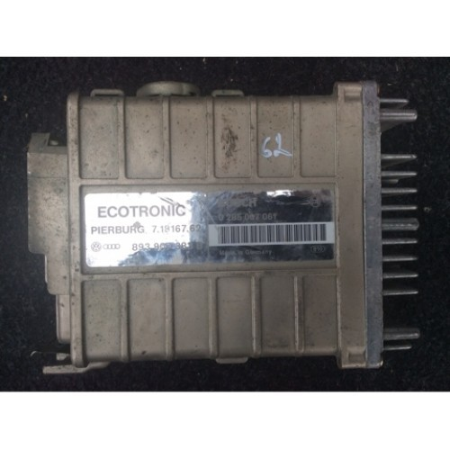 Блок управления двигателем (ЭБУ) 1.6 8V BOSCH (0285007061, 893907383B)