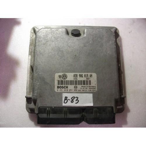 Блок управления двигателем (ЭБУ) 1.9 TDI BOSCH (281010091, 038906019AM)