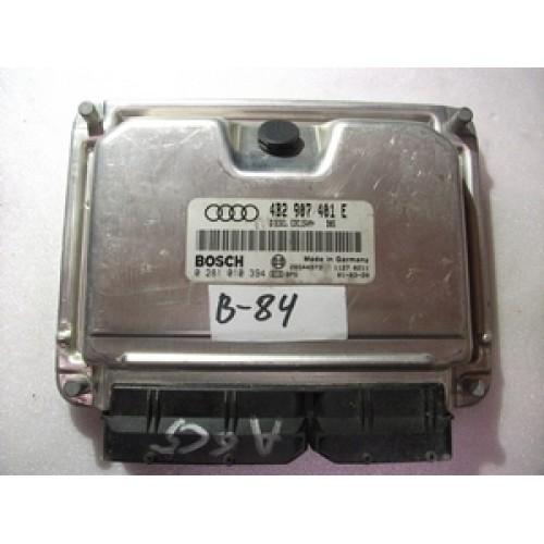 Блок управления двигателем (ЭБУ) 2.5 TDI V6 BOSCH (281010394, 4B2907401E)