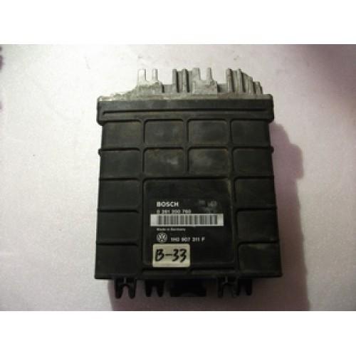 Блок управления двигателем (ЭБУ) 1.8 BOSCH (0261200760, 1H0907311F)