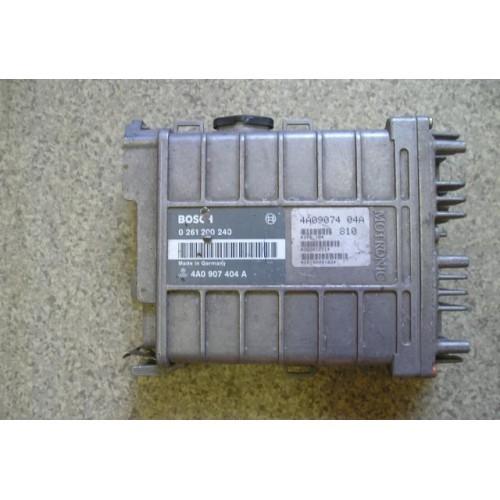 Блок управления двигателем (ЭБУ) BOSCH (0261200240, 4A0907404A)