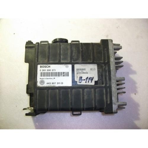 Блок управления двигателем (ЭБУ) 1.8 MONO ABS BOSCH (261200271, 443907311D)