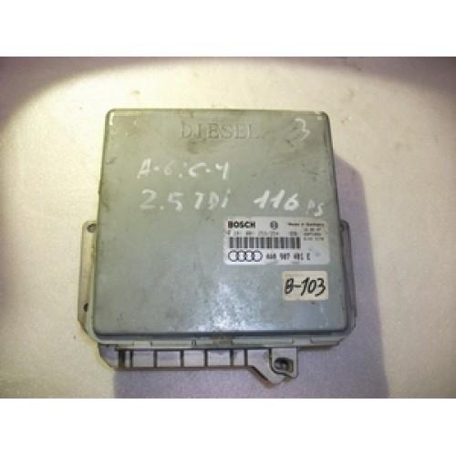 Блок управления двигателем (ЭБУ) BOSCH (0281001253/254, 4A0907401E)