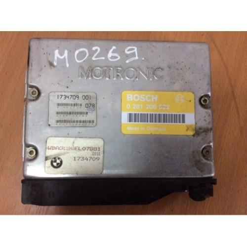 Блок управления двигателем (ЭБУ) 1.6i BOSCH (0261200522, 1734709001)