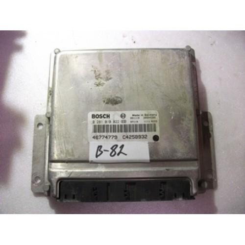 Блок управления двигателем (ЭБУ)  (0281010022, 46739033)