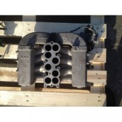 Впускной коллектор 4.0 бензин, V8 Land Rover Discovery II 028140532, MHB102202