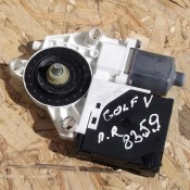 Моторчик стеклоподъемника передней правой двери Volkswagen Golf V 1K0959792C, 1K0959702E, 5M01837402