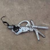Стеклоподъемник электрический передней левой двери BMW 5 E34 513219440699, 0130821255