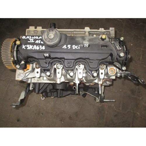 Двигатель (ДВС) 1.5 DCI K9KA636