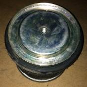 Пневмоподушка (пружина воздушная) со стаканом без отбойника DAF 65, 75, 85, LF 45, LF 55, XF 105, XF 95 W01-M58-8722, W01M588722, 566378