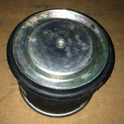 Пневмоподушка (пружина воздушная) со стаканом DAF 95 W01-M58-8721, W01M588721, 836M2K, 566379