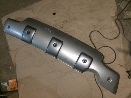 Накладка бампера (буфер) юбка задняя (HY500001)