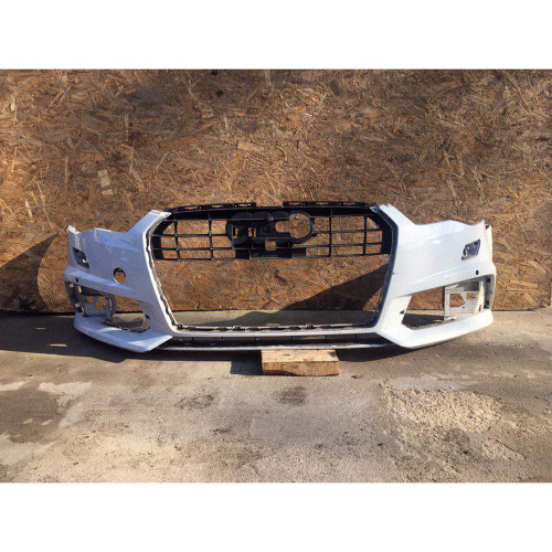 Бампер передний S-Line рестайлинг Audi A6 C7 4G0807095F, 4G0807437AD