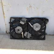 Вентилятор радиатора 5.0TDI в сборе с диффузором Volkswagen Phaeton 3D0121207J, 3D0959453D, 3D0121191K, 885002755