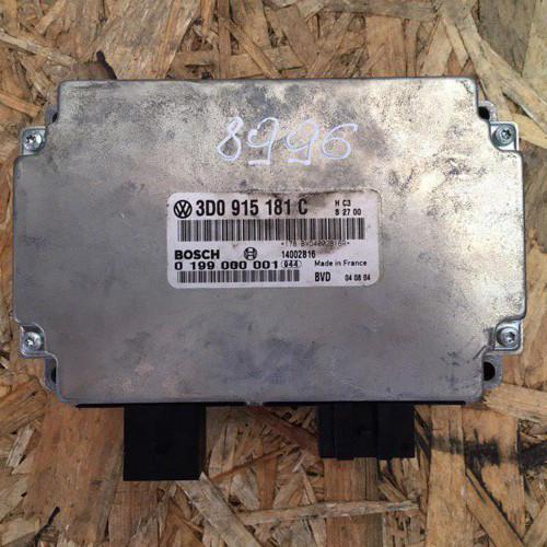 Блок управления аккумулятором Volkswagen Phaeton 3D0915181C, BOSCH 0199000001