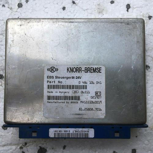 Блок управления MAN TGA E3 KNORR-BREMSE 0486106041