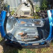 Часть кузова задняя Toyota RAV 4 IV