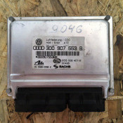 Блок управления пневматической подвеской Volkswagen Phaeton 3D0907553B