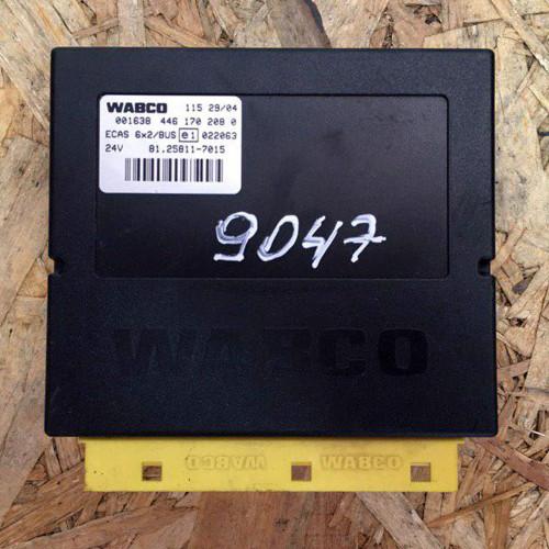 Блок управления подвеской MAN TGA E3 WABCO 001634461702080, ECAS 81258117015, 11529/04