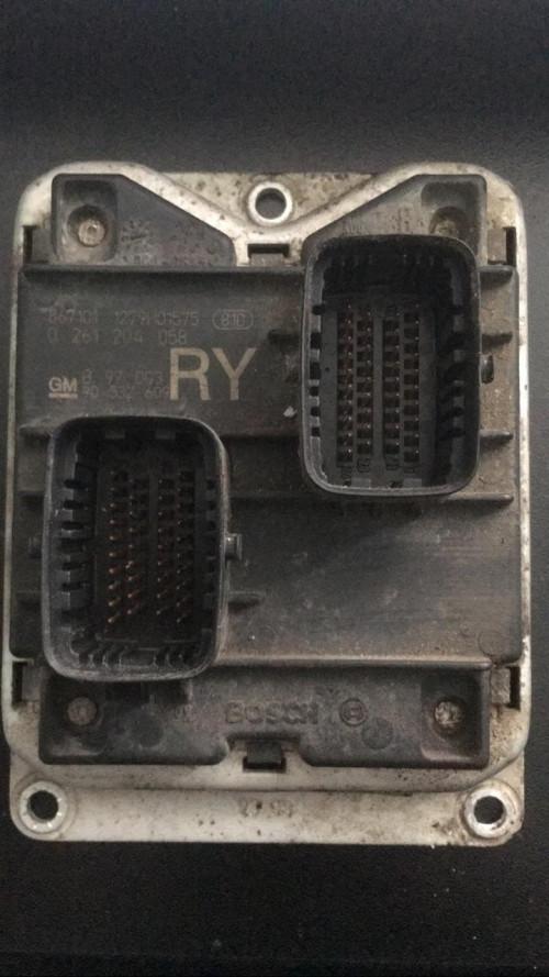 Блок управления двигателем (ЭБУ) Opel Corsa B 0261204058