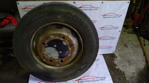 Диск с шинами Mercedes Atego