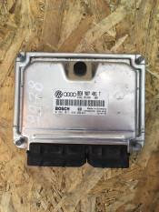 Блок управления двигателем (ЭБУ) Audi A6 C5 8E0907401T , 028101444 Bosch