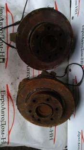 Кулак поворотный левый передний Mercedes Sprinter; Volkswagen Crafter; A9063303420