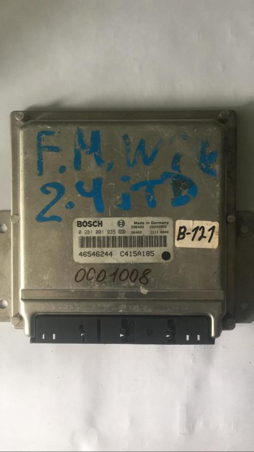 Блок управления двигателем (ЭБУ)  (0281001935 / 46546244)