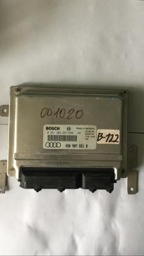 Блок управления двигателем (ЭБУ) Audi A6 C6; Volkswagen Passat B5; 4D0907551B