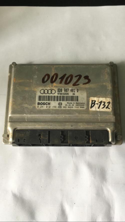 Блок управления двигателем (ЭБУ) Audi A6 C5 8D0907401Q / 0281010159